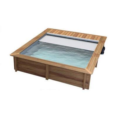 piscine bois urbaine 4 20 x 3 50 x 1 33 m