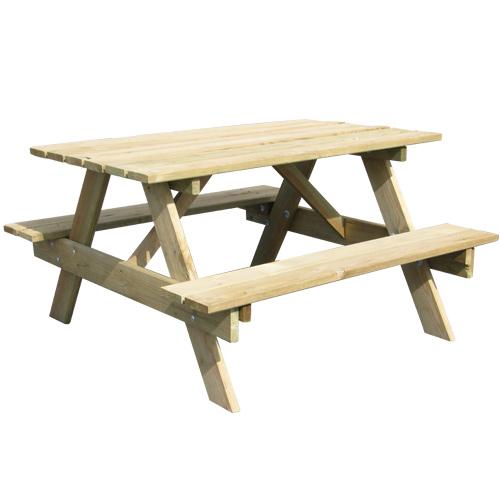 table pique nique bois ookid enfant