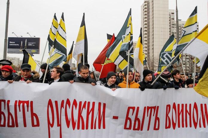 Вовремя шествия националистов вЛюблине. Фото: Максим Шеметов/ Reuters