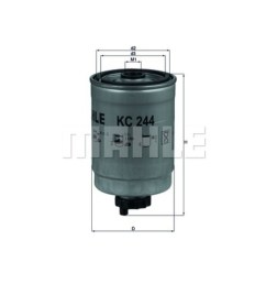 mahle fuel filter kc244 saab 9 3 single [ 1280 x 1024 Pixel ]