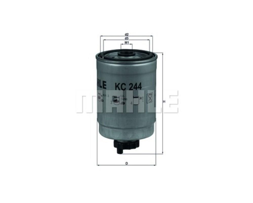 medium resolution of mahle fuel filter kc244 saab 9 3 single