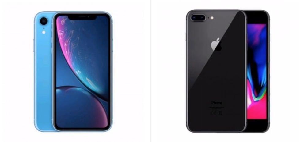 Apple iPhone XR vs Apple iPhone 8 Plus - OpinioniTech