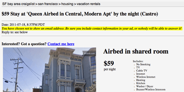 1個Airbnb增長黑客案例