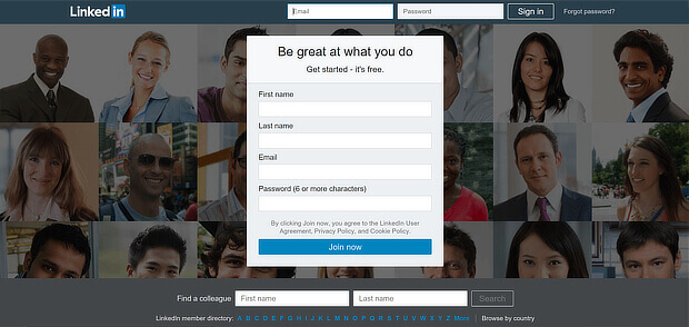 linkedin是一個很好的黑客增長示例