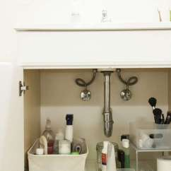 Kitchen Sink Without Cabinet Aide Blender 5 Tips For Under The Organization And Storage A Place Everything My Newly Tamed Has More