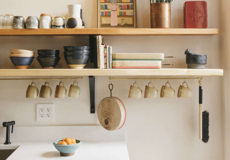 6 Wall Mounted Storage Ideas To Steal From The Jennings Hotel The Organized Home
