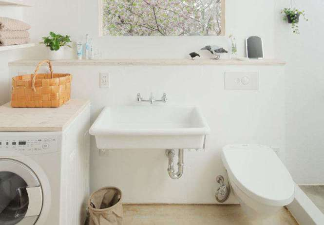 An Easy Diy Countertop Hack For The Washer Dryer