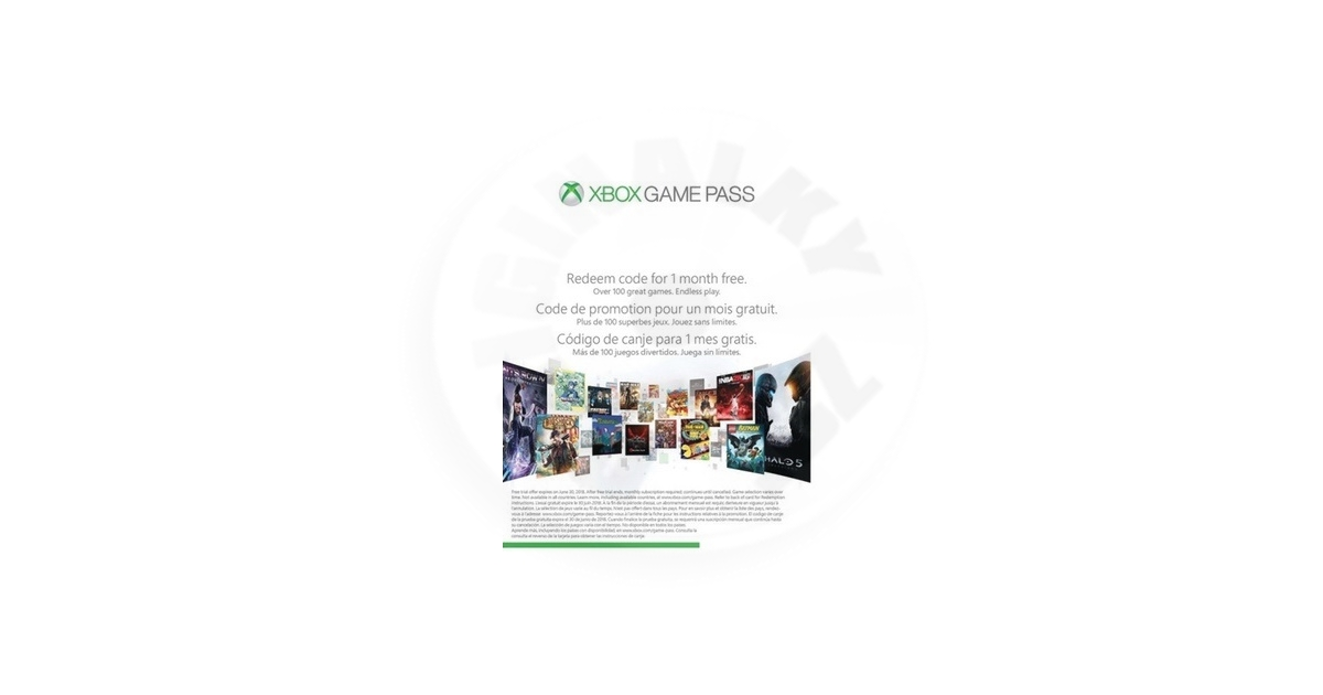 1 měsíc Xbox Game Pass Voucher (XONE)