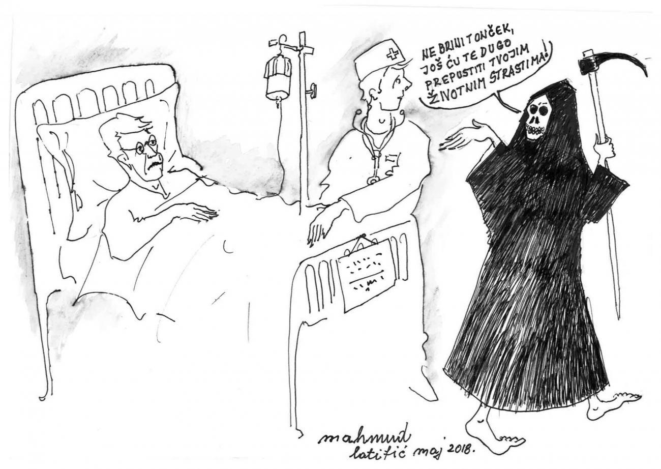 Priča za popodne: U bolnici