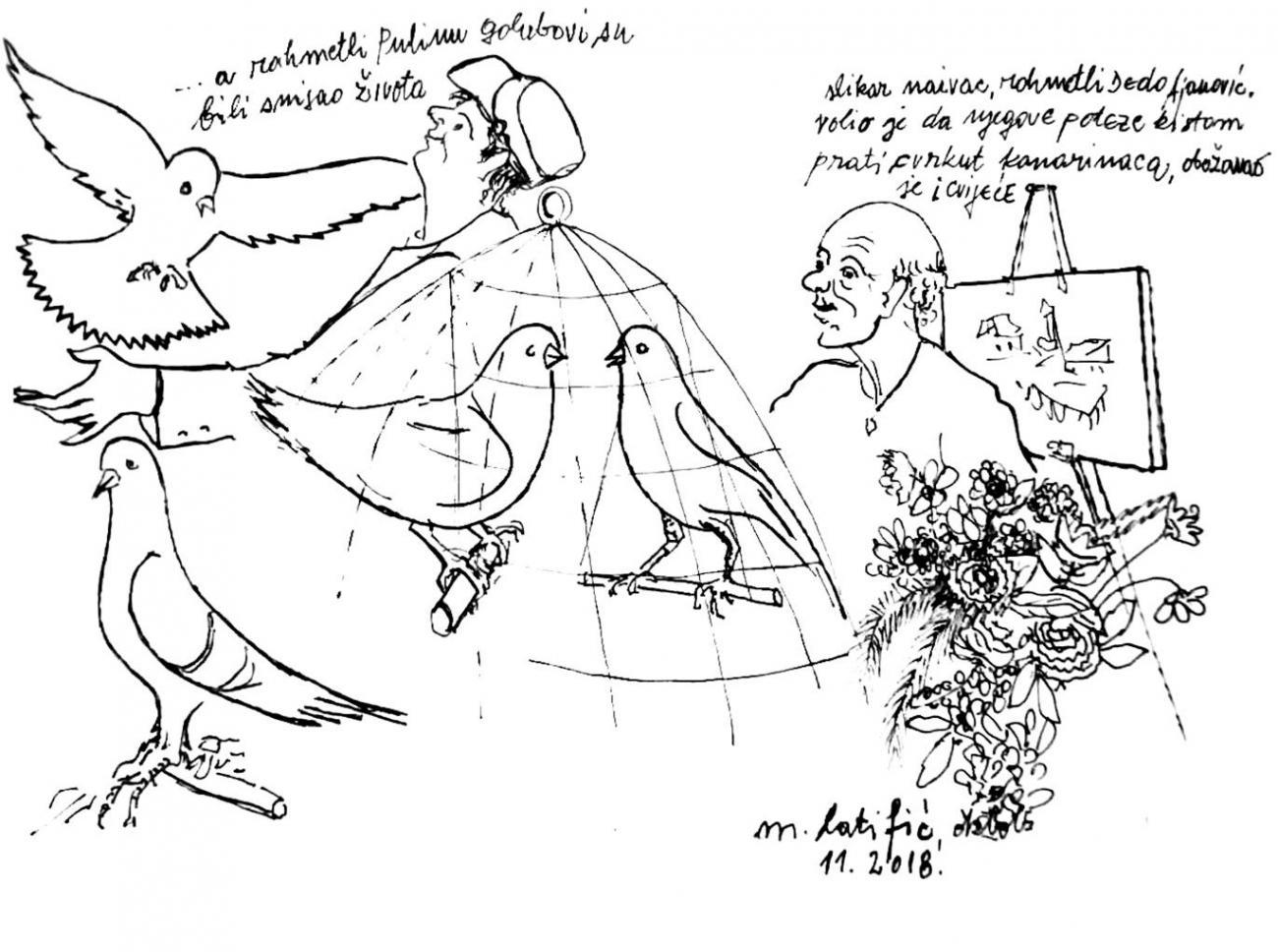 Priča za popodne: Ljudi i ptice