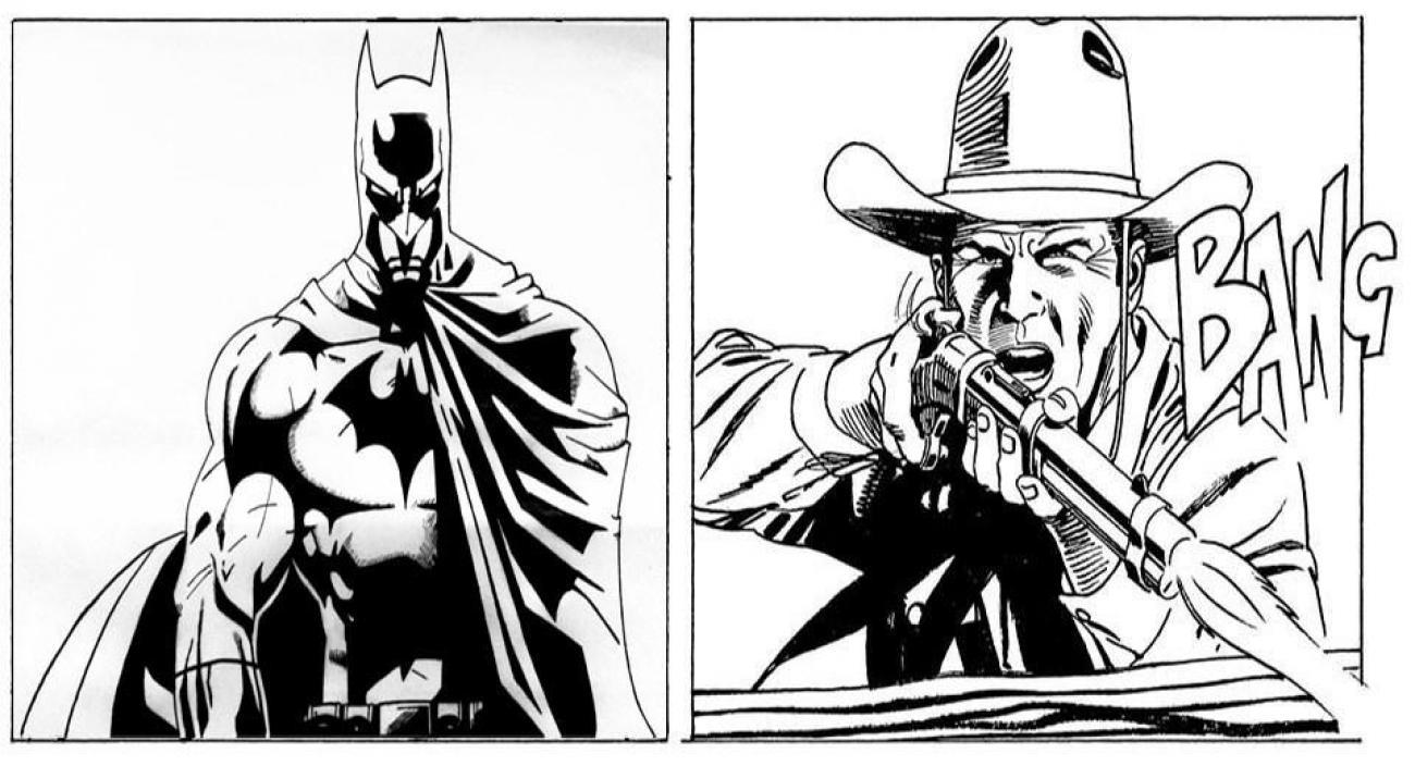 Strip Blog: Kakav bi bio susret Texa i Batmana?