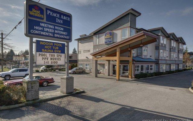 Best Western Peace Arch Inn In Surrey Canada From 112