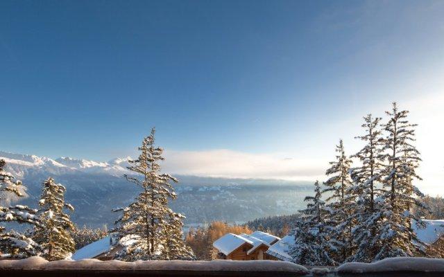 Hotel Helvetia Intergolf In Crans Montana Switzerland From
