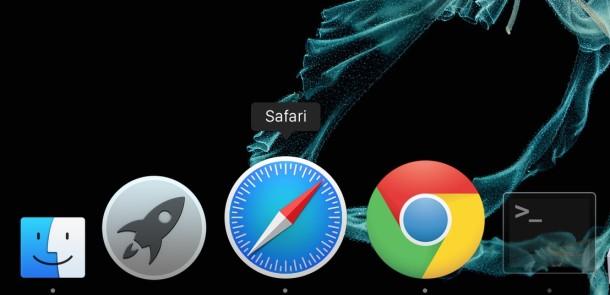 Док в OS X