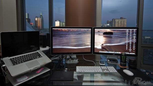 macbook pro с двумя кинотеатрами
