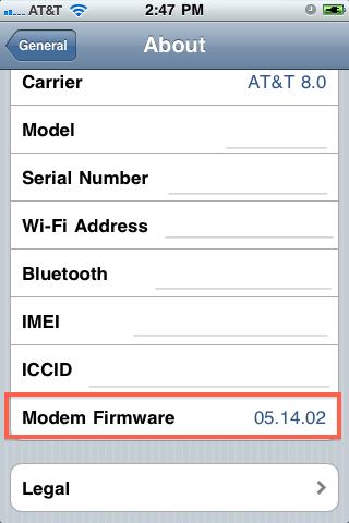 найти iphone baseband