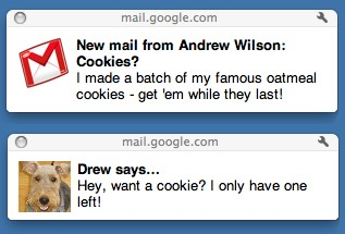 Chrome-Gmail-уведомления
