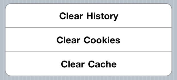 Clear History Cookies And Cache From Safari Browser On Iphone Ipad