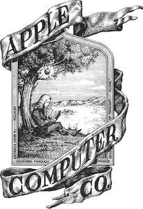 Оригинальный логотип Apple