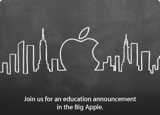 Объявление об образовании Apple