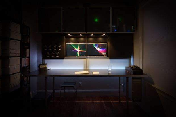 Настройка Mac Pro в темноте