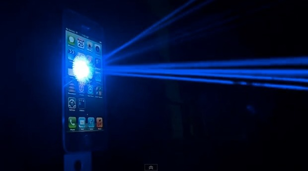 iPhone 5 lasers