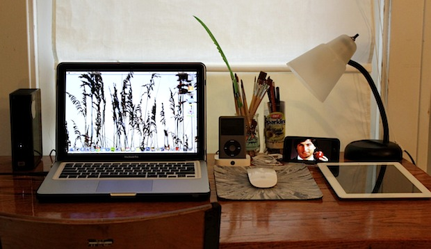 mac setups simple desk