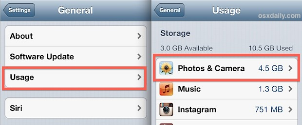 Checking the Photo storage size in iOS