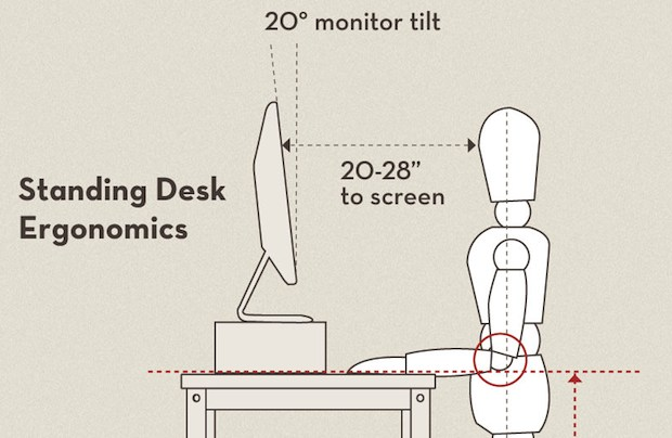 Set Up an Instant Standing Desk with an iPad  Wireless