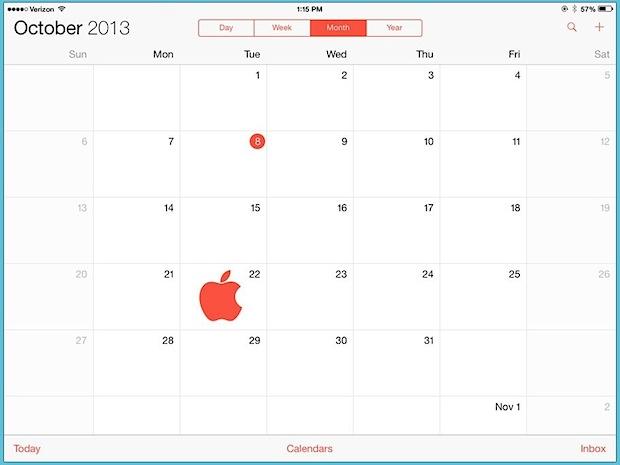 iPad 5, iPad Mini 2, Mac Pro, & OS X Mavericks Event Set