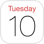 How to Show the Events List View in Calendar for iOS 7