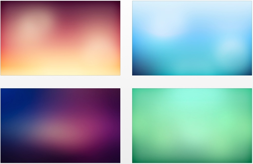 Hd Wallpaper Zip Pack Free Download 5 Simple Amp Beautiful Smooth Gradient Wallpapers