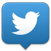 Значок Twitter для Mac
