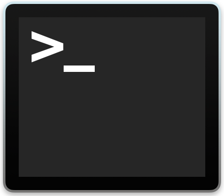 Terminal in MacOS X