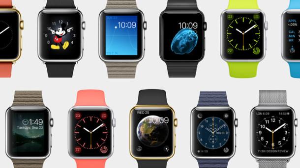 Различные модели Apple Watch