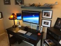 Mac Setup: Wall Mounted iMac 27 with iPad as Dual Display