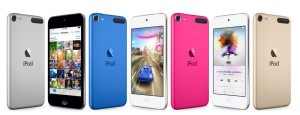 Модельный ряд iPod Touch 6-го поколения