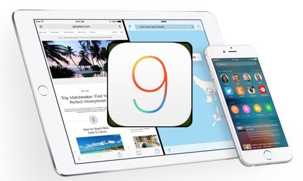 Обновление iOS 9 уже доступно