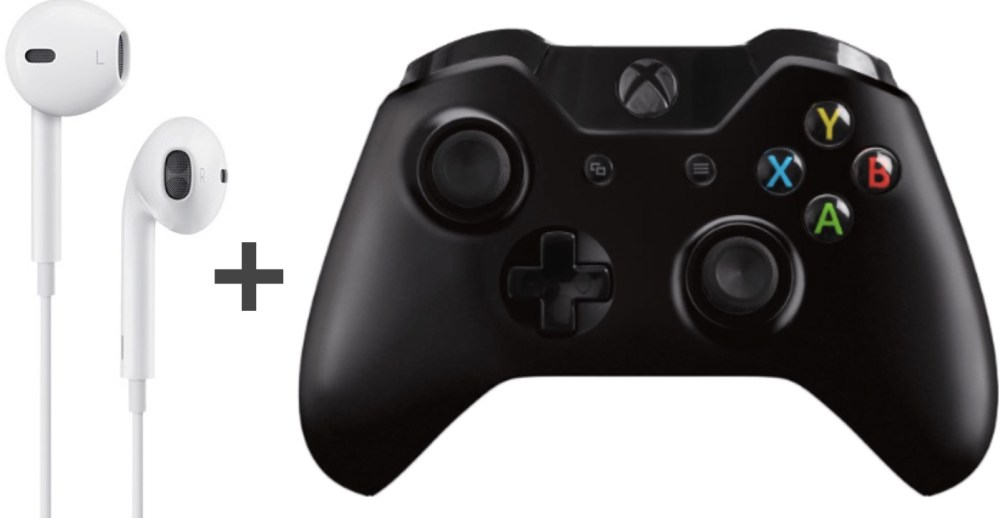 medium resolution of use apple earbud headphones with xbox one controller without the buzzing feedback sound