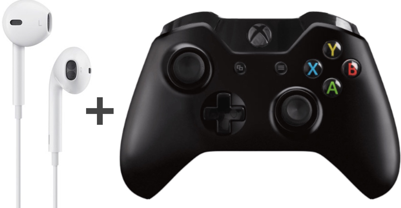 hight resolution of use apple earbud headphones with xbox one controller without the buzzing feedback sound