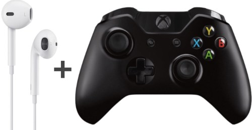 small resolution of use apple earbud headphones with xbox one controller without the buzzing feedback sound