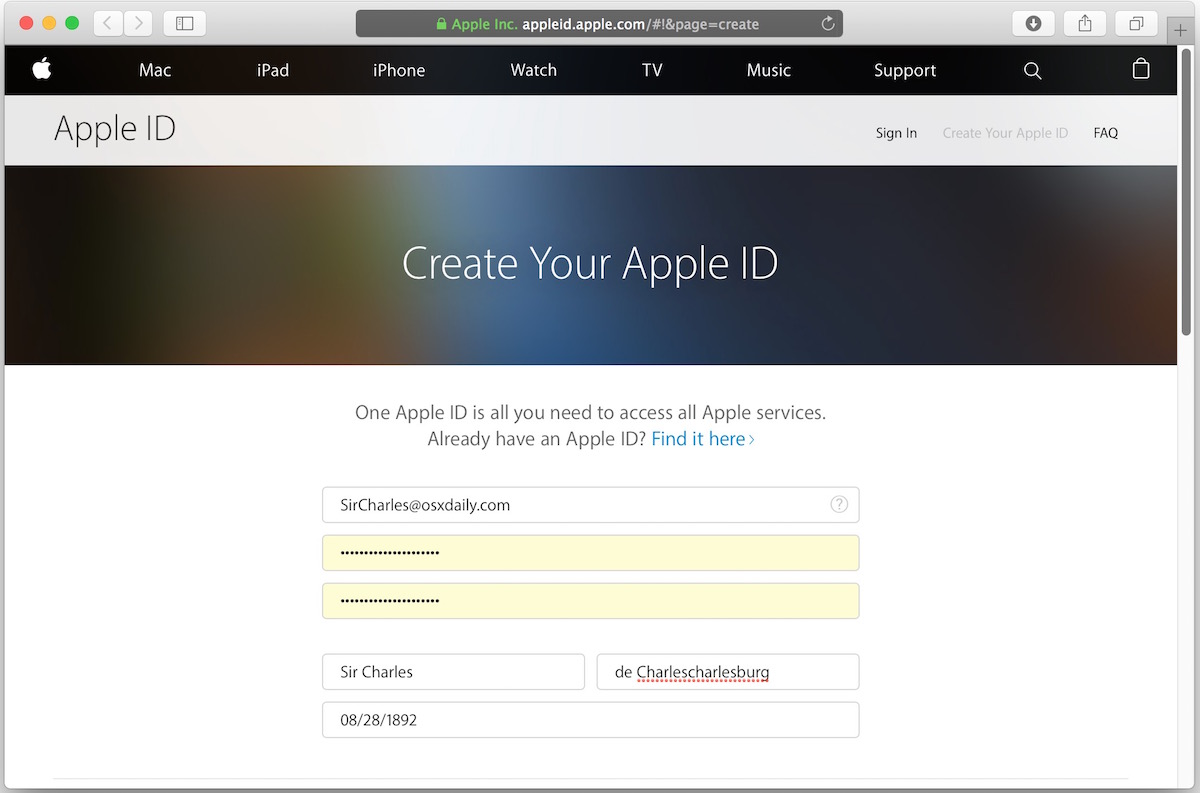 """How to Fix """"Account Limit Reached: Device No Longer Eligible for Creating Apple ID / iCloud"""" Error Messages"""