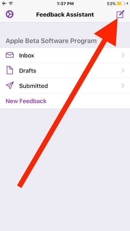 Создать новый отзыв об iOS 10