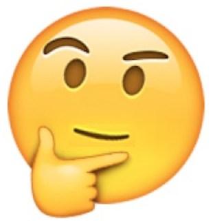 Подумайте об этом Emoji