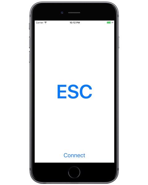 Клавиша ESCAPE для Mac, работающего на iPhone