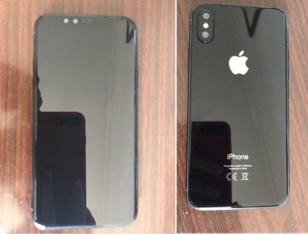 Макетная модель iPhone 8