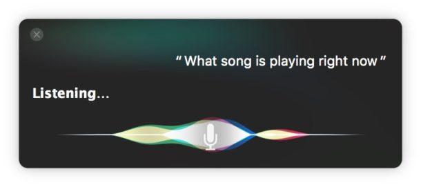 Слушайте, чтобы определить, какая песня играет на Mac