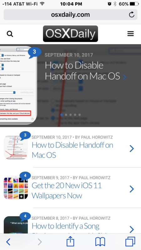 Paste and Go to the URL in iOS Safari