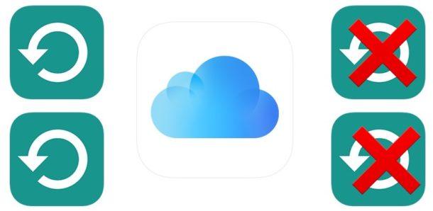 Как удалить резервные копии iCloud с iOS