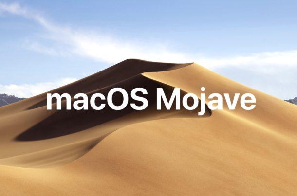 MacOS Mojave 10.14.5 обновить